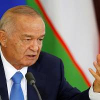 Uzbek leader recovering from brain hemorrhage, daughter says