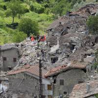 Italian quake toll nears 250 as rescuers struggle to find survivors