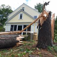 Massachusetts twister spares Louisa May Alcott's family home