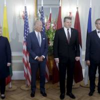 U.S. committed to NATO, will protect Baltic states from Russia, Biden assures amid Trump flap