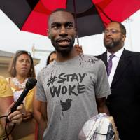 Black Lives Matter activist sues Baton Rouge for violating rights, excessive force in arrest