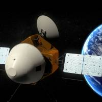 China's Mars probe is shown in an illustration released Tuesday by the Chinese State Administration of Science, Technology and Industry for National Defense. | REUTERS