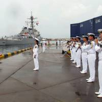 U.S. Navy ship makes first China visit since South China Sea arbitration ruling