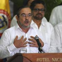 Colombia rebel leader Jimenez orders cease-fire to end half-century-long armed conflict