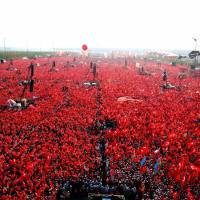 Emboldened Erdogan faces Istanbul anti-coup rally seen numbering in millions