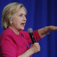 Clinton having a quiet August, and for her, that's just fine