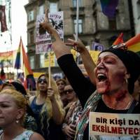 Istanbul protesters slam rape, slaying of LGBT activist, demand justice