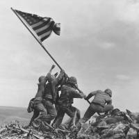 U.S. Marines say two weren't among the raisers of the first flag on Iwo Jima in 1945
