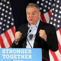 Kaine rips Trump for not coming clean on taxes, foreign ties, health