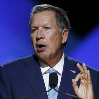 Kasich was sounded out by Trump Jr. for VP post, in charge of foreign, domestic policy