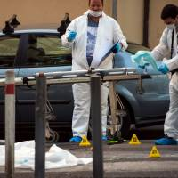 Four with AK-47s fatally ambush pair in Marseille in suspected gangland hit