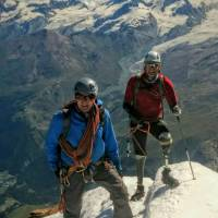 British quadruple amputee climber claims Matterhorn summit first
