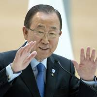 U.N. chief says he'd like a woman to be next secretary-general