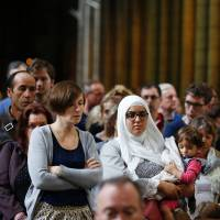 In show of solidarity, Muslims attend Catholic Mass in France, Italy