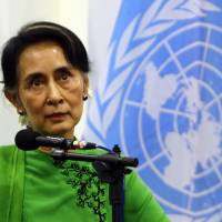 Myanmar has unique chance to forge peace, Suu Kyi says