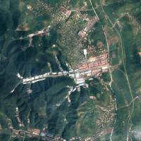 The January 18 General Machine Plant in Kaechon, North Korea, is seen in this satellite image taken Aug. 22. | REUTERS