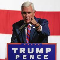 Pence walks spin-control tightrope translating Trump speak as benign