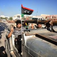 Libya regime takes Islamic State's Sirte HQ with help from U.S. airstrikes