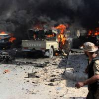 Islamic State holdouts wage wave of suicide blasts as Sirte pockets fall