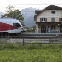 Wounds claim attacker on Swiss train, one of his female victims