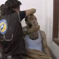 Syrian government and rebels trade gas attack accusations