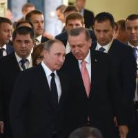 Erdogan, Putin pledge reset amid Turkey tensions with West after failed coup