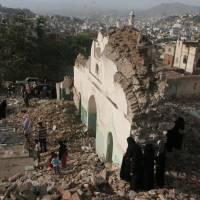 Yemen Islamists blow up famed 16-century mosque in Taiz