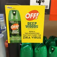 Scammers, bug spray makers cashing in on Zika scare