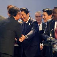Abe pledges Japan will invest $30 billion in Africa by 2018
