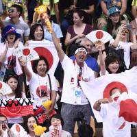 Japanese fans shrug off crime and Zika in Rio, look forward to Tokyo's turn