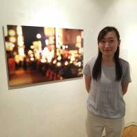 Yumeno Nito, a 26-year-old activist fighting Japan's notorious 'JK business,' says the 'Watashi-tachi wa Kawareta' ('We Were Bought') exhibition she co-organized is intended to dispel public prejudice against teens who prostitute themselves . | TOMOHIRO OSAKI