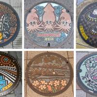 Selections from the formidable manhole collection of Hidetoshi Ishii, who has traveled to more than 1,700 municipalities and taken more than 4,500 photos. | HIDETOSHI ISHII