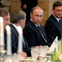 Russian President Vladimir Putin will meet Prime Minister Shinzo Abe in the first days of September.   REUTERS