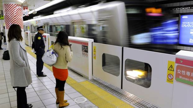 Hurdles abound as Japan's railway stations install platform-edge barriers