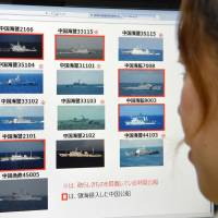 Tokyo trying to draw attention to mass China ship incursions off Senkakus