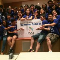 Asian students finish cross-cultural summer science course in Yokosuka
