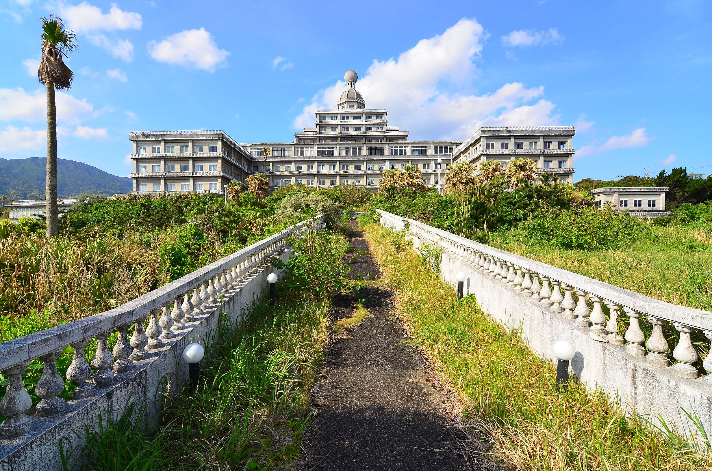 Hachijo Royal Hotel on the island of Hachijojima