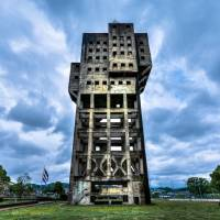Shime Coal Mine's tower in Fukuoka Prefecture has been registered as an Important Cultural Property. | JORDY MEOW