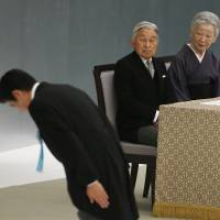 With deft political move, Japan's Emperor seeks to cement the role he created
