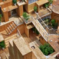 Rental Space Tower by Daito Trust Construction and Sou Fujimoto. | HOUSE VISION 2