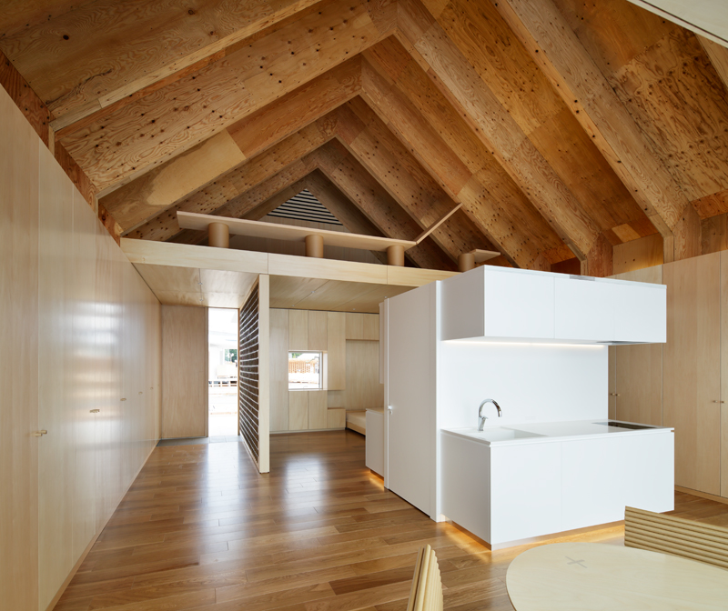 Open House with Condensed Core by Lixil and Shigeru Ban