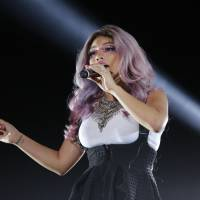 Cappella yella: Kirstin Maldonado of a cappella group Pentatonix performs at Summer Sonic in Chiba. | © SUMMER SONIC, ALL RIGHTS RESERVED