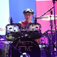 Gimme a beat: Yukihiro Takahashi, formerly of Yellow Magic Orchestra, drums with current outfit Metafive. | © SUMMER SONIC, ALL RIGHTS RESERVED