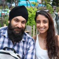 Manjeet & Satti Gill, 30s (British): We can very much see the appeal, but people need to know their limits and take safety into consideration when playing it to prevent silly accidents. Every hit has its drop, though — it's most likely just a passing fad. | NAOMI SCHANEN