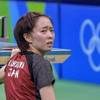 Ishikawa upset in first round of Olympic table tennis tournament