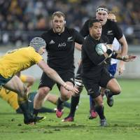 All Blacks whip Australia in Rugby Championship clash