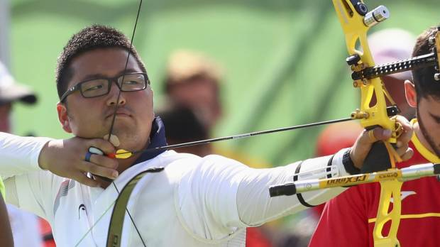 South Korean archer sets first world record of Rio Games