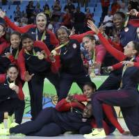 U.S. completes journey with rout to earn sixth straight gold medal