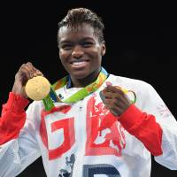 Two-time Olympic champion boxer Adams aims to inspire children