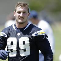 Chargers rookie Bosa ends holdout, signs four-year deal